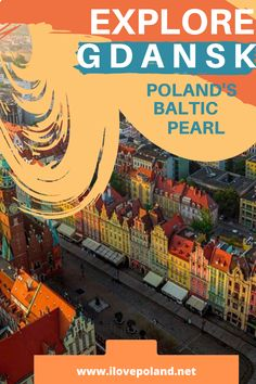 Based in the north of Poland, Gdansk is the maritime version of Krakow. Malbork Castle, Gdansk Poland, Tri Cities, Baltic Sea, Train Rides, Krakow, Cool Places To Visit, Old Town, Travel Guide