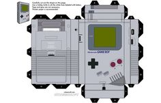 Game Boy Papercraft