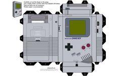 Game Boy Papercraft