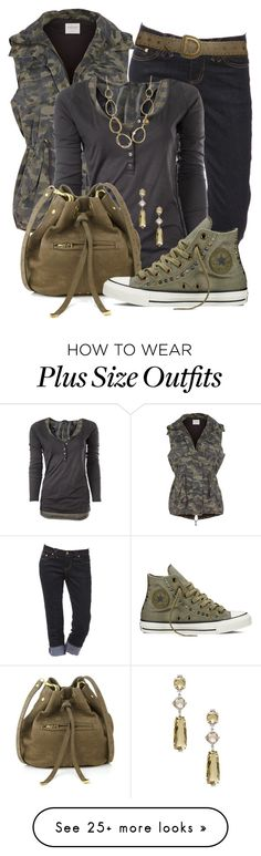 """""""Military Greens"""" by jennifernoriega on Polyvore featuring Velvet by Graham & Spencer, Maison Scotch, Jérôme Dreyfuss, Converse, Christian Dior, Vianna B.R.A.S.I.L and camostyle"""
