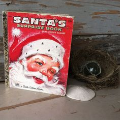 Check out this item in my Etsy shop https://www.etsy.com/listing/227105293/kitsch-vintage-santa-claus-golden-book