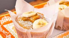 Banana and salted caramel muffins Recipe from Everyday Gourmet with Justine Schofield
