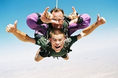 I like this website because it has answers to all of your questions about skydiving