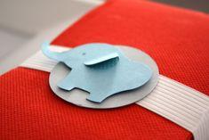 elephant party - cute tags