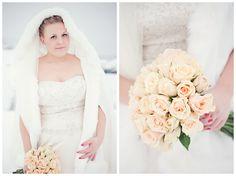Winter bride - wendelfoto.no Vinterlyset, fargetone på bildet