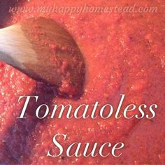 Looking for a tomatoless base recipe- here it is. Mom and Kid approved - from a mom of four. Try it on Tacos, Sloppy Joes, and Pizza - Allergy Friendly!