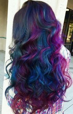 1336 Best Galaxy Hair Images Hair Coloring Colourful Hair