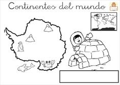 "Proyecto ""La vuelta al mundo"". Fichas para imprimir. Interactive Notebooks, Montessori, Second Grade, Continents, Social Studies, Kindergarten, Flag, Snoopy, 1"