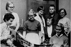 #tbt -- Cincinnatian staff in 1957.