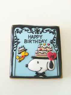 Snoopy & Woodstock  Cookie