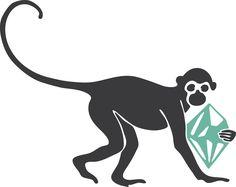 alien and monkey