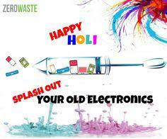 Enjoy the spirit of colourful festival!! Splash the happiness & indulge in eco-friendly Holi #HappyHoli #ZWIndia