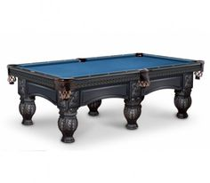 Olhausen Vetentian Pool Table with 6 Legs
