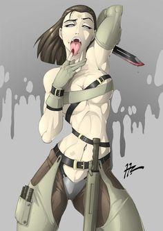 Metal Gear Solid Female Vamp