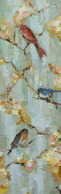 Kai Fine Art is an art website, shows painting and illustration works all over the world. Figure Painting, Diy Painting, Kathryn Morris, Floral Artwork, Bird Art, Cool Artwork, Figurative Art, Lovers Art, Unique Art