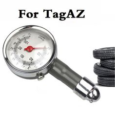 auto Car Metal High Precision Tire Air Pressure Tester Diagnostic Tool For TagAZ Aquila C10 C190 C-30 Road Partner Tager Vega #Affiliate