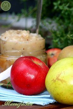 Leckeres hausgemachtes Apfelchutney zu Fleisch oder Käse - Homemade Apple Chutney, delicious with meat or cheese