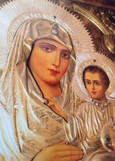 Παναγια Ιεροσολυμιτισσα Prayer For Family, Virgin Mary, Orthodox Christianity, God First, Orthodox Icons, Mother Mary, Fun To Be One, Madonna, Princess Zelda