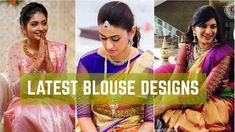 Stunning Blouse Designs |Latest Boat Neck Blouse Designs | Net Blouses| Indian Fashion Trends - YouTube