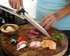 Make Professional Sushi At Home With the Sushi Select Level II Chef's Knife!