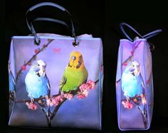 Anya Hindmarch, Budgies, Lunch Box, Gifts, Bags, Handbags, Parakeets, Presents, Bento Box