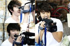 Super Junior's Donghae becomes a camera man for 'Miss Panda and Porcupine'