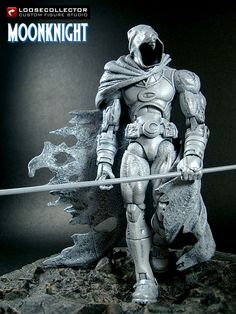 Loosecollector Custom Action Figures Official Website: Moonknight