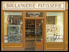 Montmartre - little shop 3 - bakery  Boulangerie à Montmartre   by Romeodesign, via Flickr
