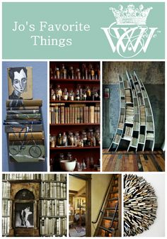 Jo's Favorite Things: Books #books