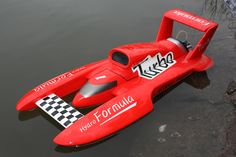 Hydro Formula 700BP(Red)  700mm Brushless Motor Powered RC Boat