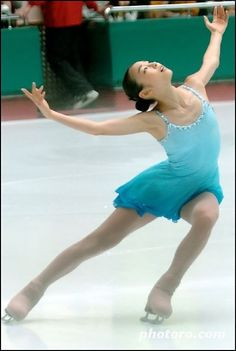 Yuna Kim - Blue Figure Skating / Ice Skating dress inspiration for Sk8 Gr8 Designs.