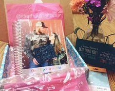 Shhhhhh!  I bought my niece a wedding planner.  Her boyfriend proposed on Christmas Eve and they are adorable!  I'm going to fill the box with some of my favorite stickers, pens and sticky notes before I ship it off with instructions to pencil in time for us to DIY some of her Pinterest board.