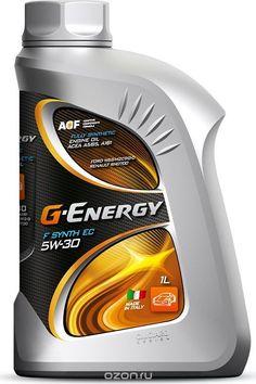 Масло моторное G-Energy F Synth EC 5W-30, ACEA A5/B5, синтетическое, 1 л