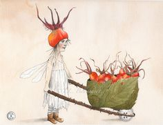 Fairy tales and dreams. by Ann Zaborka on Etsy