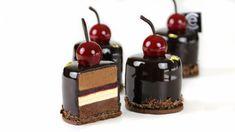 YouTube Bite Size Desserts, Great Desserts, Dessert Recipes, Individual Cakes, Black Forest Cake, Savarin, Cake Youtube, Mini Cheesecakes, Cake Plates