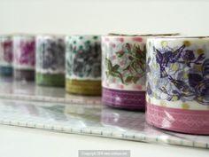 Collage+Bird+Flowers+Pattern+Japanese+Washi+Tape $8.00