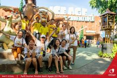 Our Seventh (Do-Fun) Charity Event, in Celebrating Kartini's Day, We bring orphans from Agape orphanage for a day full of fun and adventures at Dufan Themepark.