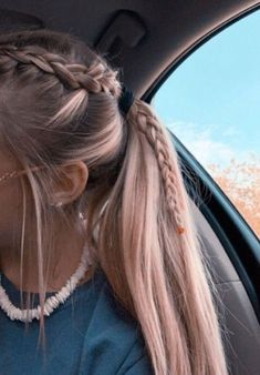 22 Pretty Braided Ponytail Hairstyles You Should Try This Se.- 22 Pretty Braided Ponytail Hairstyles You Should Try This Season Braided Ponytail Hairstyles, Box Braids Hairstyles, Girl Hairstyles, Hairstyle Ideas, Wedding Hairstyles, Softball Hairstyles, Updo Hairstyle, Cute Hairstyles Long Hair, Braids Into Ponytail