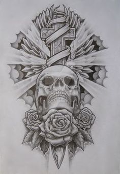 One of my tattoo designs which I haven't found anyone brave enough to have.