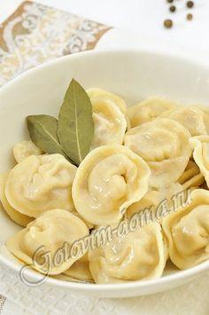 Пельмени Use Google translate for dumpling recipe