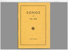 Tripping through IBM's astonishingly insane 1937 corporate songbook