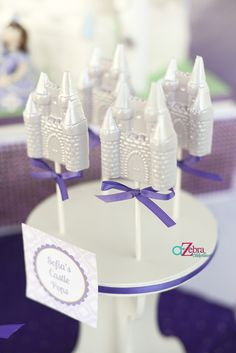 castle pops for princess party