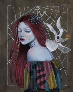 BROTHERTEDD.COM - backwrdblackbrd: Something In The Wind By... Nightmare Before Christmas, Halloween, Disney, Anime, Pumpkin, King, Artists, Pumpkins, The Nightmare Before Christmas
