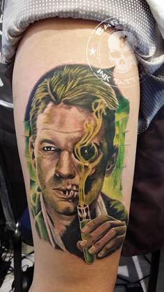 #tattoo #tattooist #tattoolife #tattooartist #tattoofreakz #tattoolifemag #tattooistartmag #tattooed_body_art #tattooistartmagazine #thebesttattooartists #thebestpaintattooartists #colortattoo #inkedmag #inkfreakz #crazytattoos #tattooalmeria #tattooed #terrortattoo #jeckylandmisterhide #jeckylandmisterhidetattoo
