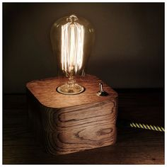 40 Creative DIY Lamps Decoration Ideas for Your Home - doityourzelf Edison Lamp, Edison Lighting, Cool Lighting, Solar Light Chandelier, Diy Chandelier, Lamp Light, Retro Lamp, Handmade Lamps, Ideias Diy