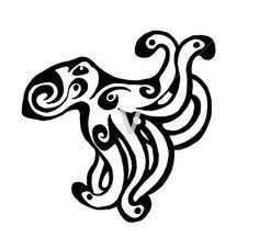 Tribal Octopus