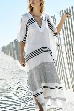 Cheap cover ups, Buy Quality cover ups swimwear directly from Sorbuzz' s cover covers Suppliers: Women Striped Cover Ups Swimwear Summer Sexy Bikini Pareo Beach Cover Ups Beachwear Women Dress Cotton Bathing Suit Cover Vacation Dresses, Beach Dresses, Dress Beach, Ibiza Dress, Maxi Dresses, Sexy Bikini, Bikini Beach, Beach Kaftan, Maxi Kaftan