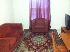 On Campus Apt:Living Room Area