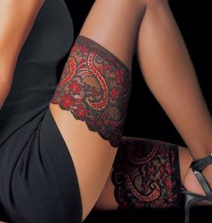 Essential Thigh Stockings by Le Bourget Stockings! It's ok that Christian Sutter likes stockings! Happy mothers day!