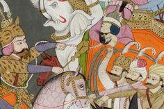 El Museo Thyssen-Bornemisza acoge desde 28 de febrero y hasta el próximo 20 de mayo, una selección de pinturas del sur de Asia provenientes del San Diego Museum of Art de California.